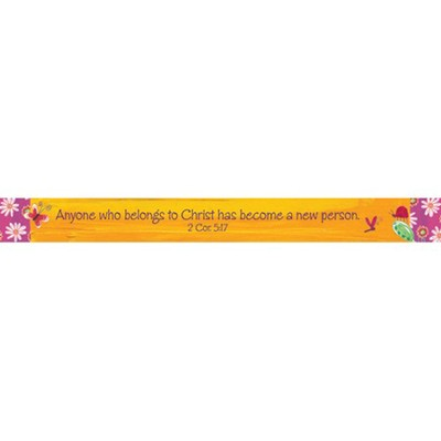 Anyone Who Belongs to Christ Magnetic Strip  -