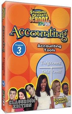 Standard Deviants School Accounting Module 3: Accounting Tools DVD   -