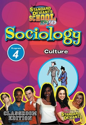 Standard Deviants School Sociology Module 4: Culture DVD   -