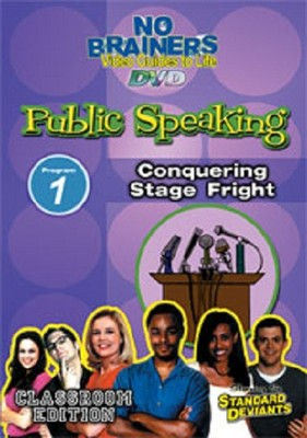 Public Speaking 1: Conquering Stage Fright DVD  -