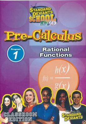 Pre-Calculus Module 1: Rational Functions DVD  -