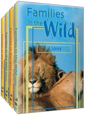 Just The Facts: Families in the Wild - 4 Disc Set DVD   -