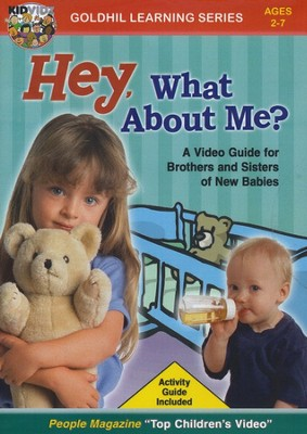 Kidvidz: Hey, What About Me? DVD  -