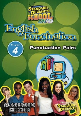 Standard Deviants School English Punctuation Module 4:  Punctuation Pairs DVD  -