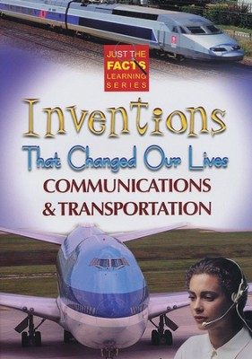 Inventions That Changed Our Lives: Communications & Transportation DVD  -