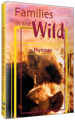 Families in the Wild - Hyenas DVD  -