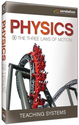 Physics Module 5: The Three Laws of Motion DVD  -