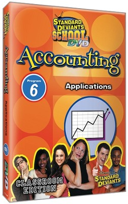 Standard Deviants School Accounting Module 6: Applications DVD   -