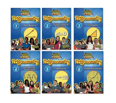 Trigonometry 6 DVD Pack  -