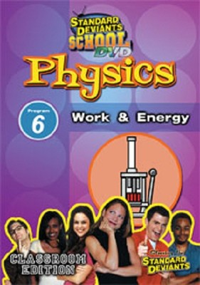 Physics Module 6: Work and Energy DVD  -