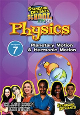Standard Deviants School Physics Module 7: Planetary Motion  and Harmonic Motion DVD  -