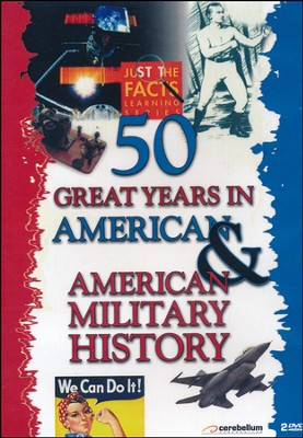 50 Great Years in American History/Military History DVD  -