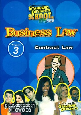 Business Law Module 3: Contract Law DVD  -