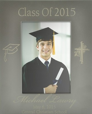 Personalized, Metal Photo Album, Graduation   -
