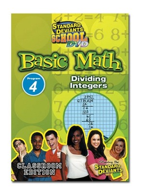 Basic Math Module 4: Dividing Integers DVD  -