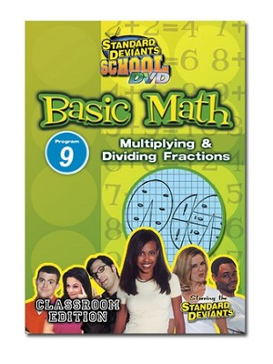 Basic Math Module 9: Multiplying and Dividing Fractions DVD  -