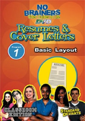 Resume & Cover Letters 1: Basic Layout DVD  -