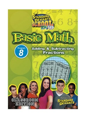 Basic Math Module 8: Adding and Subtracting Fractions DVD  -