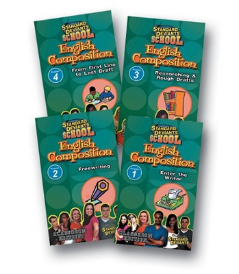 English Composition 4 DVD Pack  -
