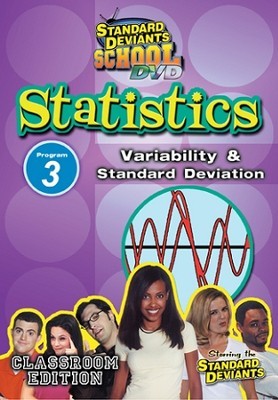 Statistics Module 3: Variability and Standard Deviation DVD  -