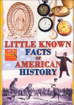 Little Known Facts of American History DVD  -