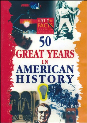 50 Great Years in American History DVD  -