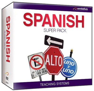 Teaching Systems Spanish 13 Pack DVD   -
