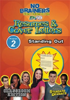 Standard Deviants School NB Resumes & Cover Letters 2:  Standing Out DVD  -