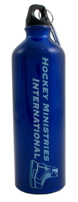 Hockey Ministries International Water Bottle, Blue  -