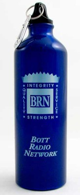 Bott Network Metal Water Bottle, Blue   -