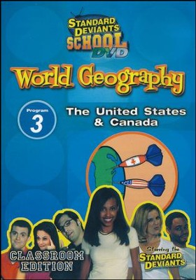 World Geography Module 3: The US and Canada DVD  -