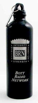 Bott Network Metal Water Bottle, Black   -