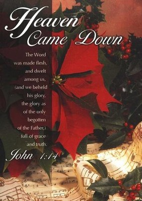Heaven Came Down, Box of 12 Christmas Cards  -