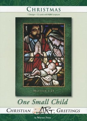 One Small Child, Box of 12 Christmas Cards  -