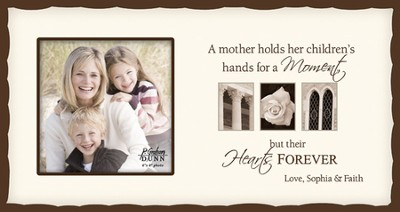 Personalized, Mom Photo, Cream   -