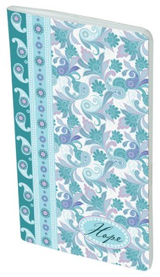 Paisley Pocket Notebook, Hope  -