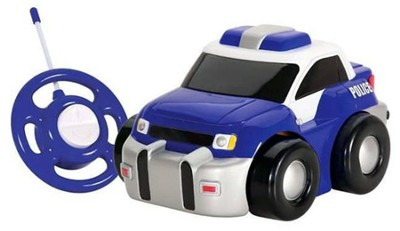 My First Remote-Controlled Police Car  -