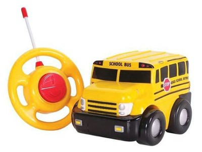 My First Remote-Controlled School Bus  -