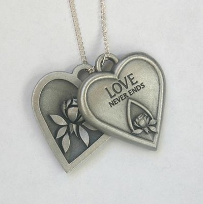 Memorial Tear Heart Tokens Pendant   -     By: Kathy Bernu