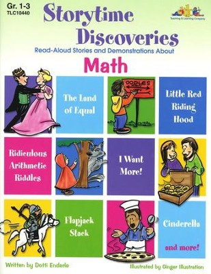 Storytime Discoveries: Math, Grades 1-3   -     By: Dotti Enderle