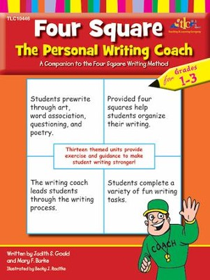 Four Square: The Personal Writing Coach, Grades 1-3   -     By: Judith S. Gould, Mary F. Burke