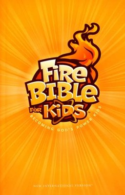 NIV Fire Bible for Kids Hardcover   -