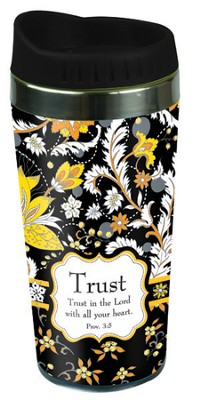 Paisley Travel Mug, Trust  -