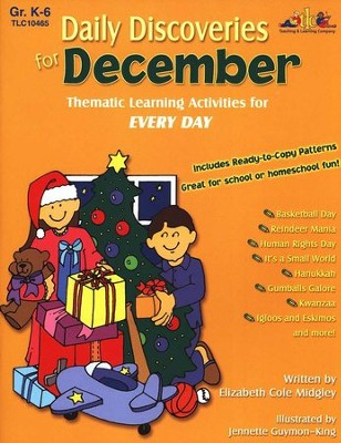 Daily Discoveries for December: Thematic Learning  Activities for Every Day  -
