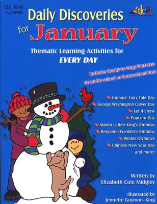 Daily Discoveries for January: Thematic Learning  Activities for Every Day  -