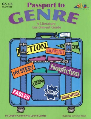 Passport to Genre: A Literature Enrichment Guide,  Grades 4-6  -     By: Debbie Connolly, Laurie Danley