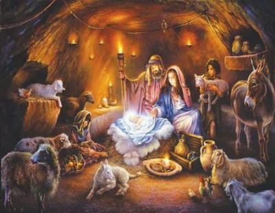 No Room at the Inn Advent Calendar  -