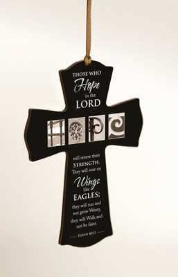 Those Who Hope In the Lord Mini Cross  -