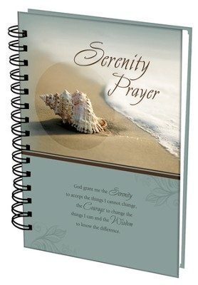 Serenity Prayer Wirebound Journal  -