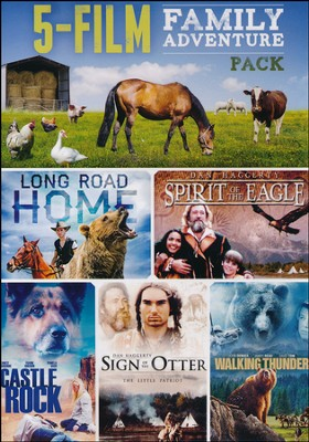 5-Film Family Adventure Pack: Long Road Home/   -